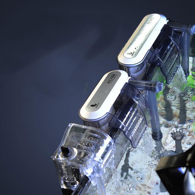這種超靜音魚缸過濾器,低噪聲高過濾超級實惠,用半年都不用換水.圖片