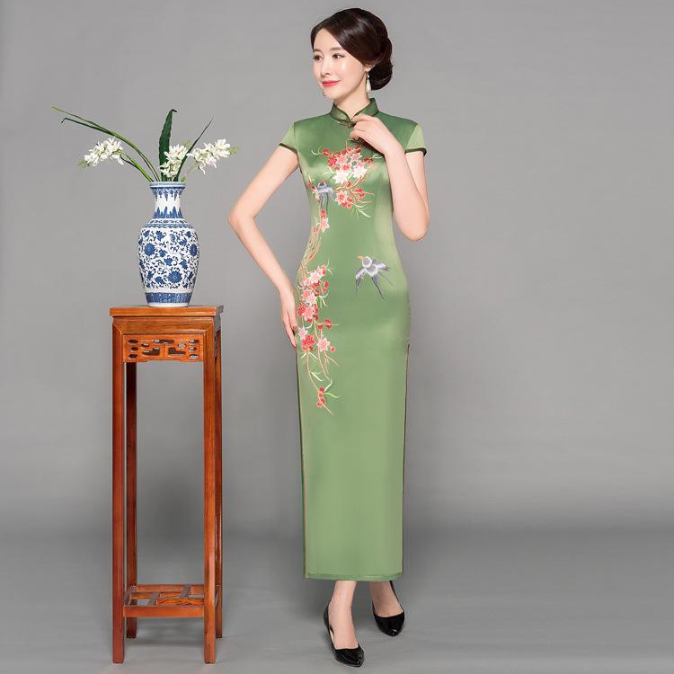 【美人旗袍素材篇】衬托出女性的美妙气质 - 浪漫人生 - .