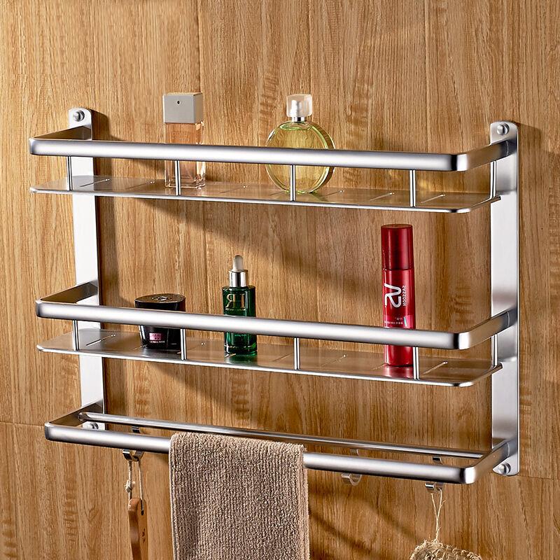 卡贝(Cobbe)毛巾架太空铝浴室挂件浴巾架卫生间卫浴五金置物架壁挂优惠券