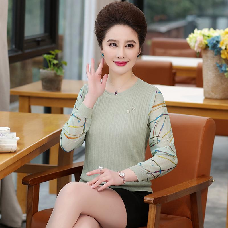 几款洋气女装,特适合45-59皮肤暗黄的妈妈,典雅端庄超显白