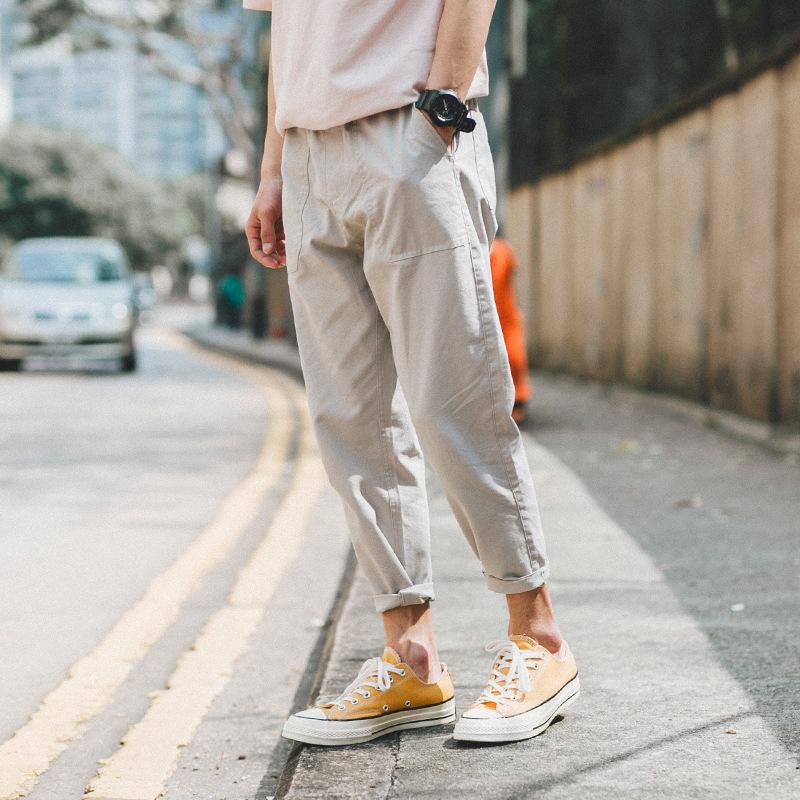 买8件都嫌少的早秋爆款休闲裤,时尚帅气又百搭,关键超减龄